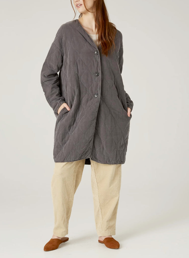 WOMENS BROOKLYN QUILTED COAT