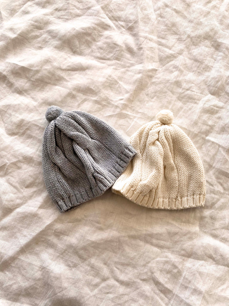 CABLE POM CAP - TANE ORGANICS-children-todler-kids-baby-clothing-shopboygirl