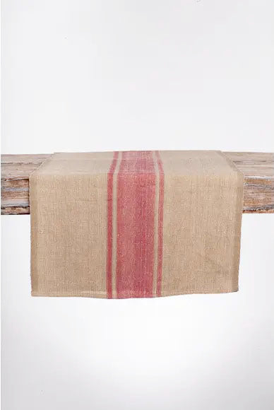 BURLAP TABLE RUNNER - CREATIVE WOMEN