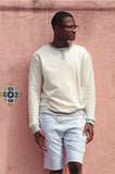 CREW FLEECE HENLEY