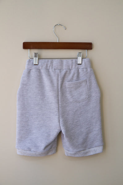 RIBBED FLEECE SHORT