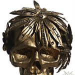 "K4K COUTURE ""BRONZED PETALS"" HEAD WREATH"