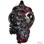 K4K COUTURE GASMASK - CRYSTAL FLOWERS