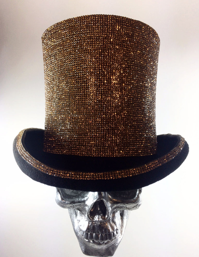 K4K COUTURE AYLESBURY TOPHAT - STONE TRANSFER DARK GOLD
