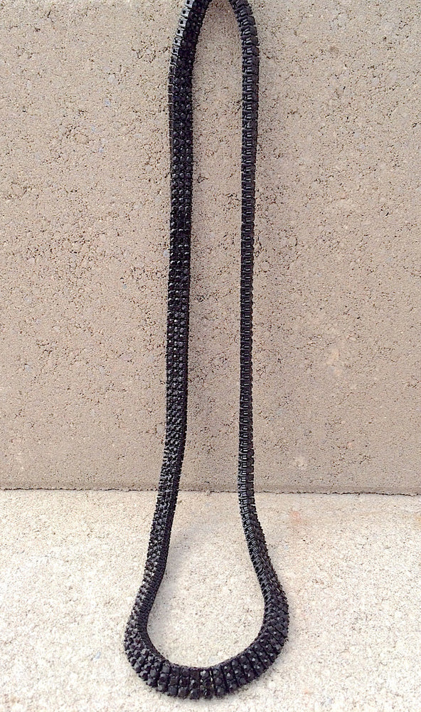 Black Emperor Interlock Chain - Kali4Kouture