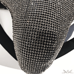 "K4K COUTURE MMA GROIN GUARD ""WHITE DIAMOND"" - Kali4Kouture"