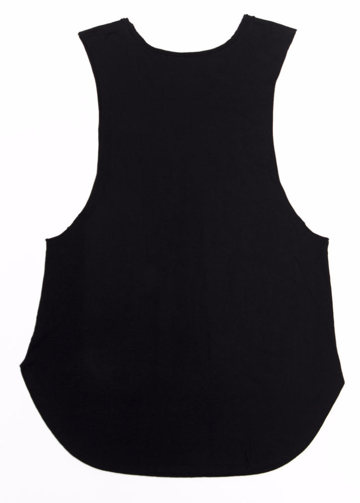 """STREAKER"" RAW EDGE LONG TANK UNISEX - Kali4Kouture"