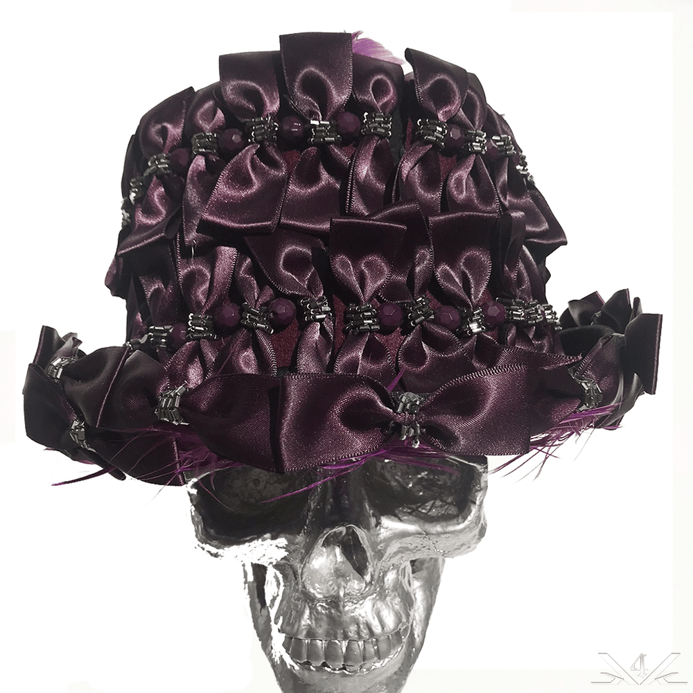 K4K COUTURE TOPHAT - ALL-OVER SATIN BOWTIES - Kali4Kouture