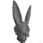 "K4K COUTURE CRYSTAL BUNNY EARS - ""WHITE DIAMOND"" - Kali4Kouture"