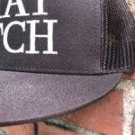"""THAT BITCH"" MESH TRUCKER SNAPBACK - BLACK - Kali4Kouture"