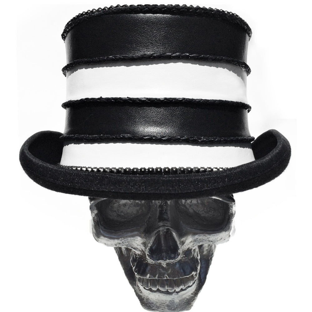 K4K COUTURE TOPHAT - SOFTENED LEATHER STACKS - Kali4Kouture