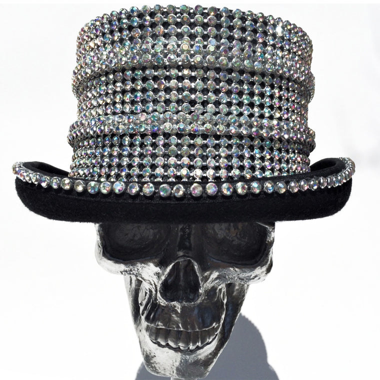 K4K COUTURE COACHMAN TOPHAT PRISM CRYSTAL STACKS