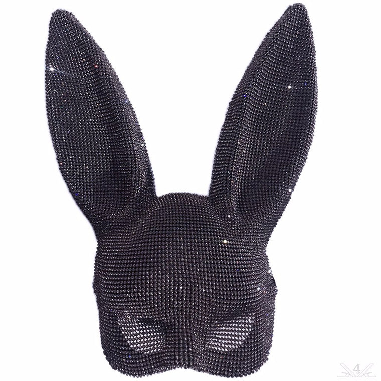 K4K COUTURE CRYSTAL BUNNY EARS -