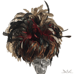K4K COUTURE FASCINATOR - COQUE FEATHERS - Kali4Kouture