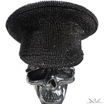 "K4K COUTURE COMMANDER CAP ""BLACK DIAMONDS"""