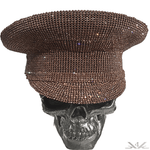 "K4K COUTURE COMMANDER CAP - A/B ""COPPER CRYSTALS"""