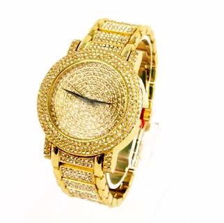K4K Roleksy Wristwatch - Gold