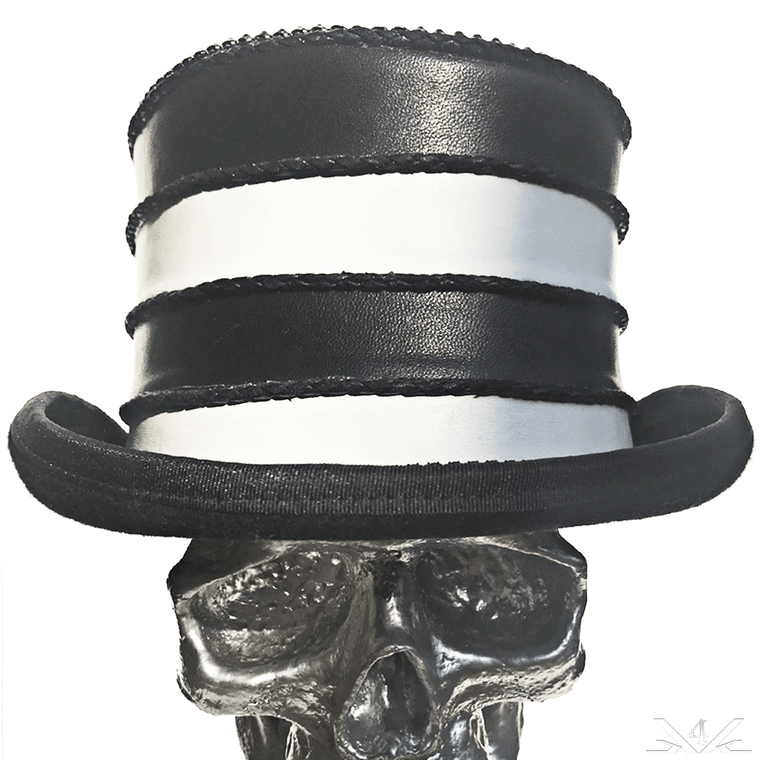 K4K COUTURE TOPHAT - SOFTENED LEATHER STACKS