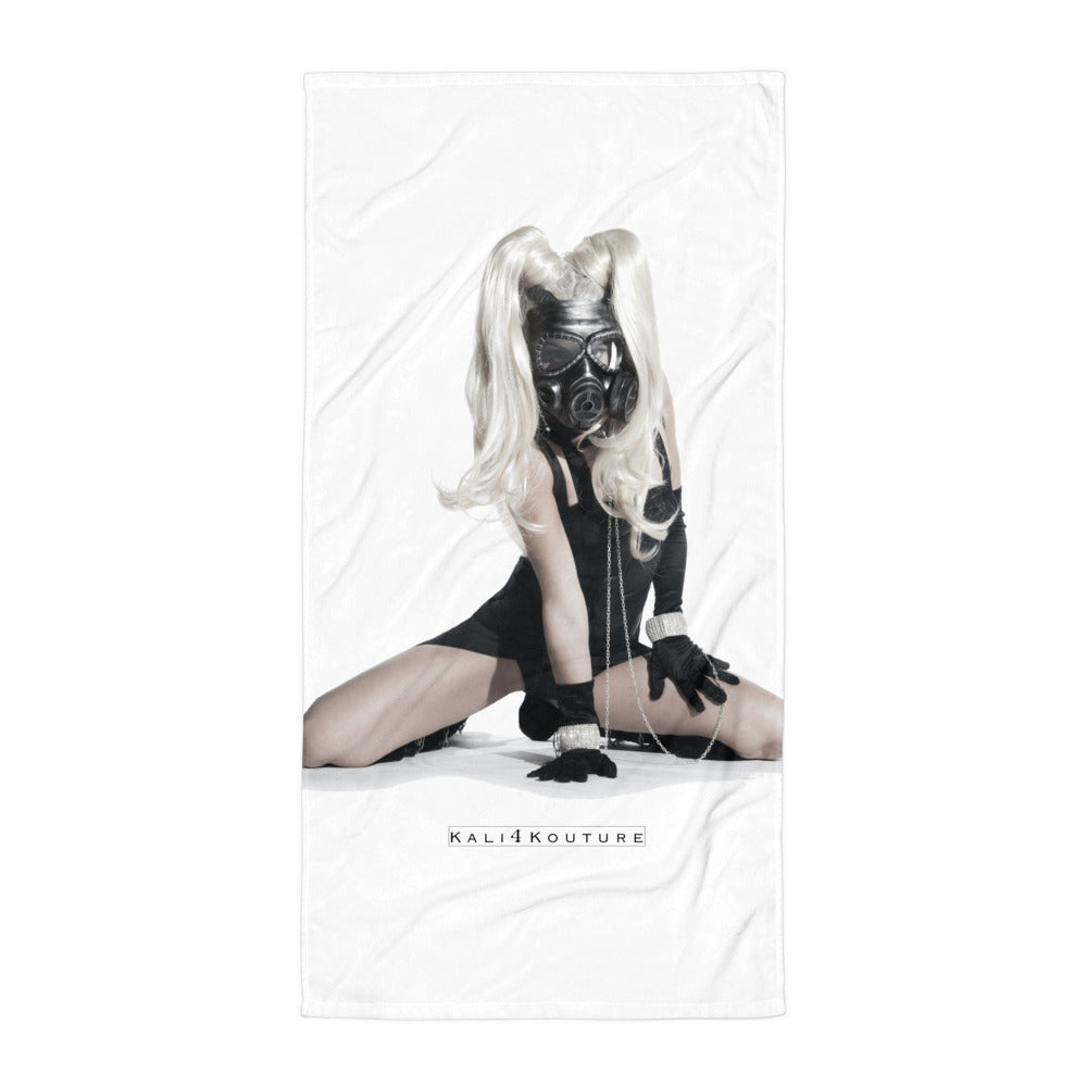 """TOXIC TEMPTRESS"" BEACH TOWEL - Kali4Kouture"