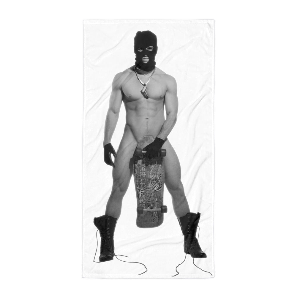 """STREAKER"" BEACH TOWEL"