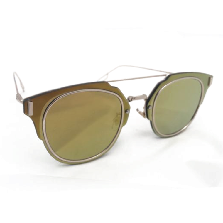 BROWLINE SHADES - GOLDEN