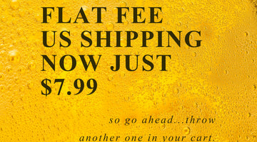 Flat fee US shipping now just $7.99!