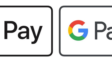 Now accepting Apple Pay and Google Pay