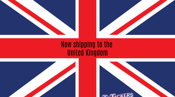 Now shipping to the United Kingdom