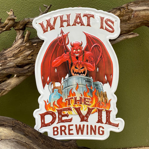 What is the Devil Brewing tacker from Devil's Cock Brewing Co