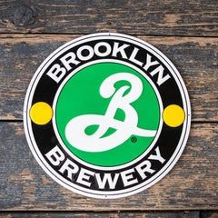 Brooklyn Brewery Tin Tacker Metal Beer Sign