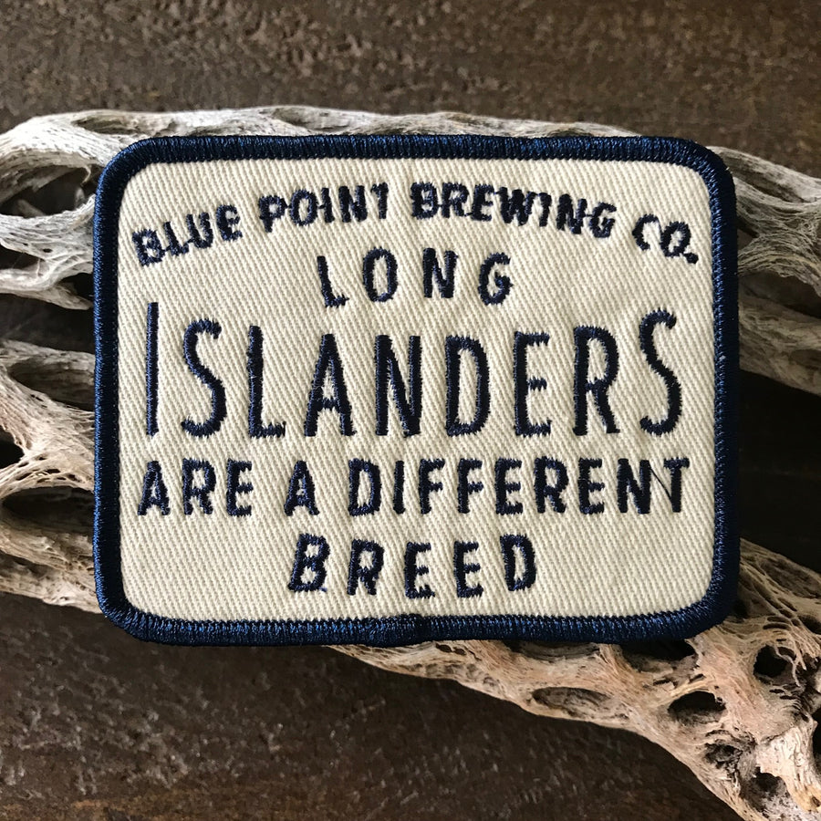 Blue Point Brewing Co Long Islanders Embroidered Patch