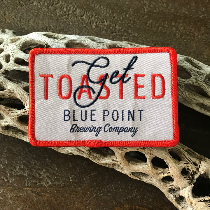 Blue Point Brewing Co Get Toasted Embroidered Patch