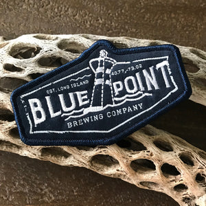Blue Point Brewing Co Logo Embroidered Patch