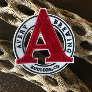 Avery Brewing Co Logo Embroidered Patch