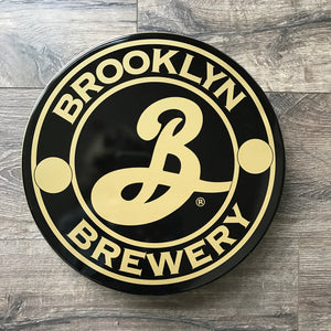Brooklyn Brewery Tin Tacker Metal Beer Tray