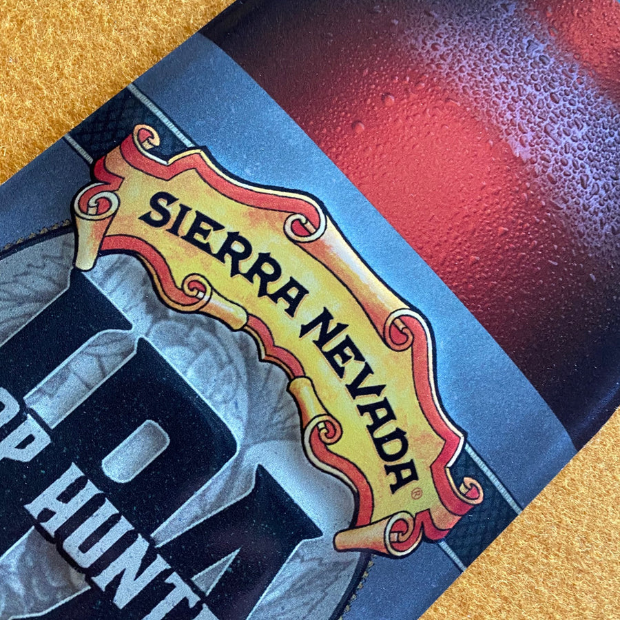 Sierra Nevada Hop Hunter IPA Bottle Tin Tacker Metal Beer Sign