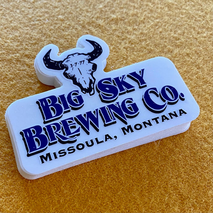 Big Sky Brewing Co Logo Die Cut Sticker