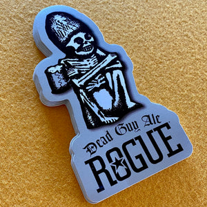 Rogue Ales Dead Guy Ale Die Cut Sticker