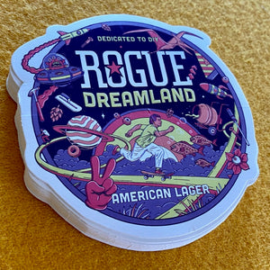 Rogue Ales Dreamland Die Cut Sticker