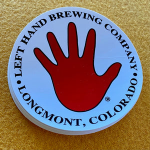 Left Hand Brewing Co Sticker
