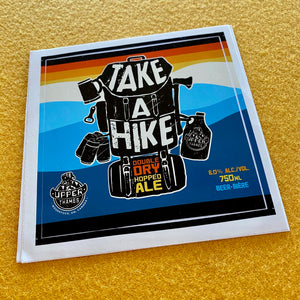 "Upper Thames Brewing Co ""Take a Hike"" Sticker"
