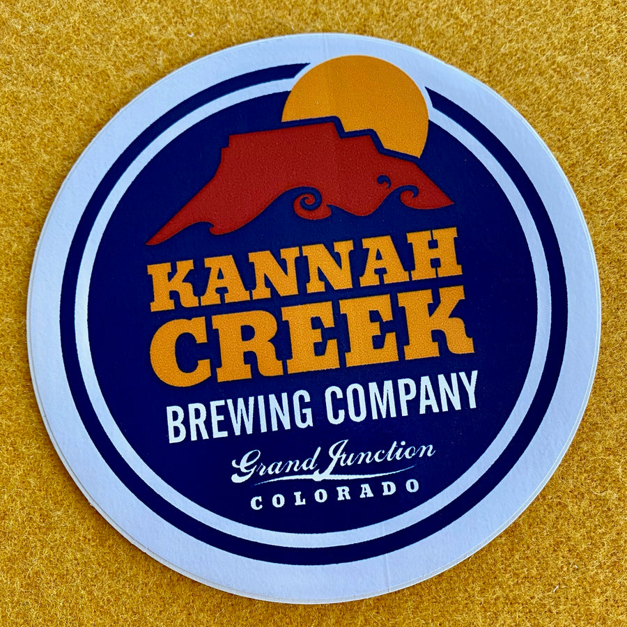 Kannah Creek Brewing Co Die Cut Sticker