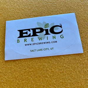 Epic Brewing Sticker