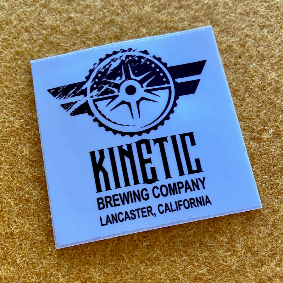 Kinetic Brewing Co Sticker