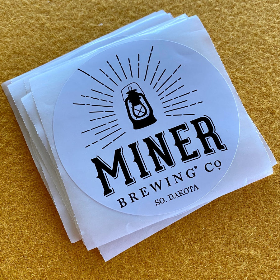 Mine Brewing Co Sticker