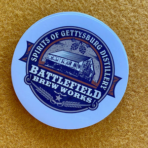 Battlefield Brew Works and Spirit of Gettysburg Distillery Sticker