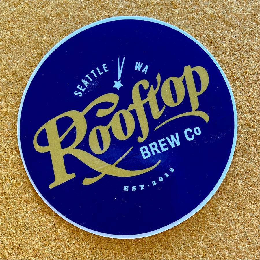 Rooftop Brewing Co Sticker