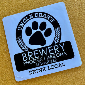 Uncle Bear's Brewery Sticker