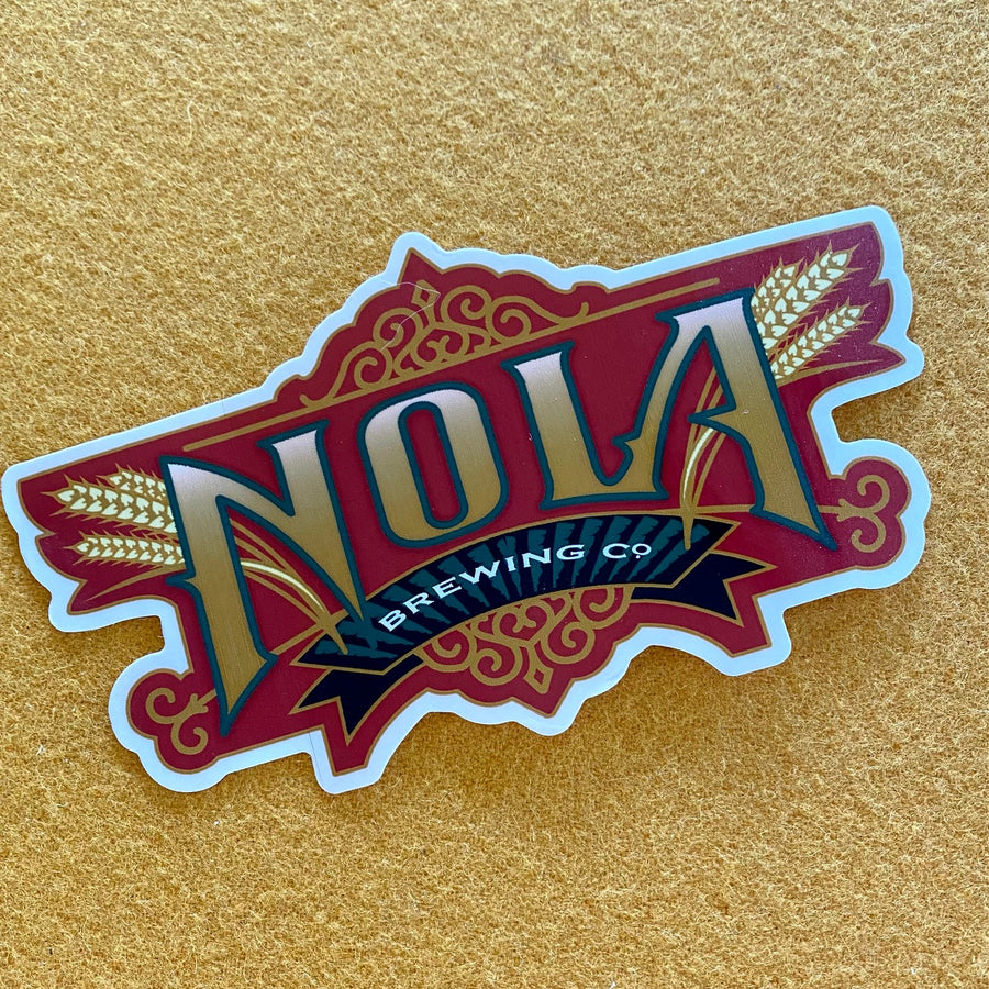 NOLA Brewing Co Sticker