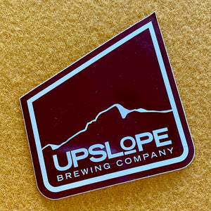 Upslope Brewing Co Sticker